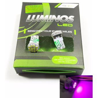 Luminos Led T10 Tancap Senja Kota Spedometer - Ungu