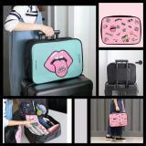 Detail Gambar Lynx Tas Koper Jinjing Luggage Travel Organizer Bag Hand Carry - Pink Terbaru