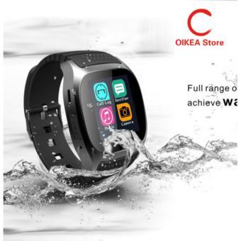 M26 Bluetooth Smart Wrist Watch Sync Ponsel Mate untuk Android IOS Smartphone Hitam-Intl