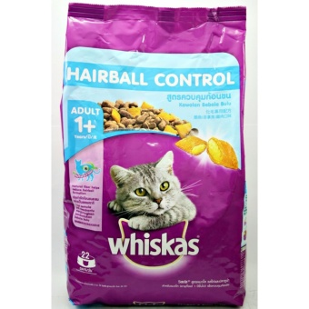 Makanan Kucing Whiskas Hairball 450 gr