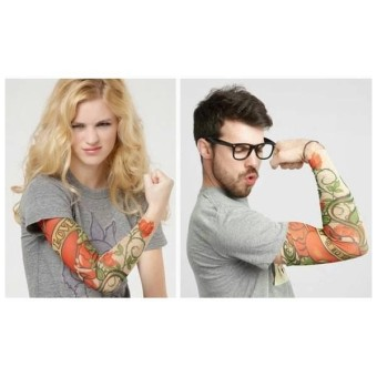 Manset Tatto Sleeve Sarung Pelindung Lengan Tangan Motor Arm Anti UV