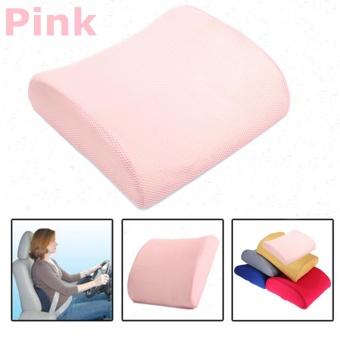 Memory Foam Lumbar Sakit Punggung Cushion Pad Bantal For Kursi Kursi Rumah Tangga Rumah Tangga (
