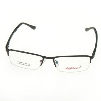 Pria Kacamata Logam Kacamata Optik Setengah Rimless Bingkai Kacamata  Eyewear HOT-Intl 2269e9912e
