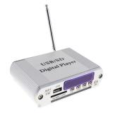Mini Dazzle Warna LED Display Level Power Amplifier Digital Audio Music Player dengan Remote Control Mendukung FM/MP3/ SD/USB/DVD untuk Mobil/Motor/Rumah-Intl - 2