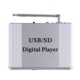 Mini Dazzle Warna LED Display Level Power Amplifier Digital Audio Music Player dengan Remote Control Mendukung FM/MP3/ SD/USB/DVD untuk Mobil/Motor/Rumah-Intl - 4