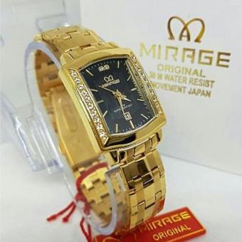 Mirage - Jam Tangan Wanita Original - strap Stainless - MG TR4253