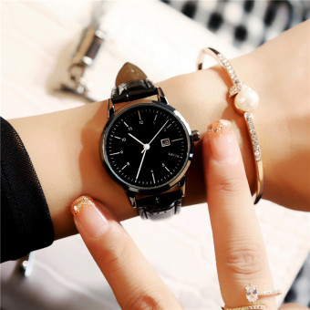 Mode tahan air baru kalender bentuk perempuan menonton wanita jam tangan OE427OTAARCDHCANID-61107963