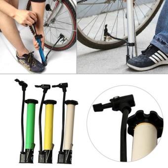Moonar Fashion Portable Sepeda Motor Mini Ban Pompa Air Skid-Proof Manual Pompa Udara Terbuka