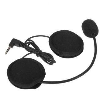 Motor Helm Bluetooth Headset W/Mic 3.5mm Port untuk Intercom Interphone