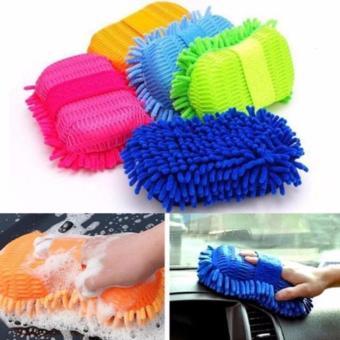 Murmer Shop Microfibre Sponge Pencuci Mobil Agar Kinclong