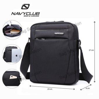 Navy Club Tas Selempang Tablet Ipad Tahan Air 5550 - Hitam