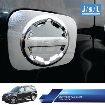 New Daihatsu Terios Cover Bensin JSL/ Tank Cover All Sporty Chrome