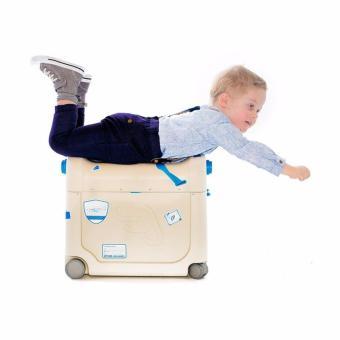 NTR JetKids Bedbox Tempat Tidur Bayi - Blue