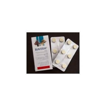 Obat Cacing Kucing Anjing / Biaverm - 1 Tablet