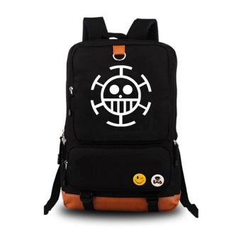 ONE PIECE Backpack Wanita Pria Rucksack Travel Gym Tas Laptop Tas Sekolah -Intl