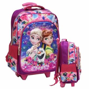 Onlan Tas Anak Sekolah Trolley SD Frozen Cantik 5D Timbul Hologram 2 Kantung Besar Import - Purple, 173.000, Update. Onlan My Little Pony ...