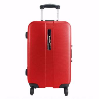President Koper Hardcase Luggage 20 Inch TSA5259-20 Travel Anti Theft Original - Red