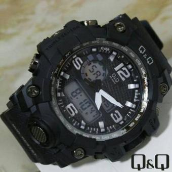 Q q Digital Jam Tangan Sport Pria Rubber Strap Q q Mmc3p101y ... fa6189e65d