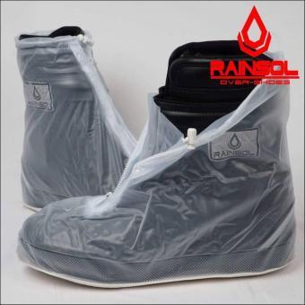 Rain Cover Shoes Rainsol - Sarung Jas Hujan Sepatu Plastik PVC