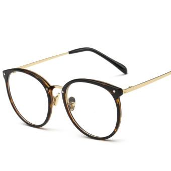 Pembaca Square Lensa Besar Spring-Engsel Membaca Kacamata Membaca Sunglasses Pria Wanita 51081-Intl