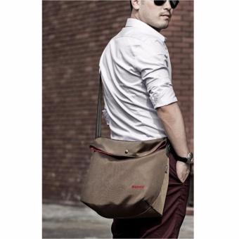 Remax Fashion Laptop Bodypack Shoulder Bags Tas Selempang Pria Men Sling Bag Tas Bahu Buat Ipad