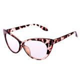 Retro Seksi Mata Kucing Kacamata Hitam Abu-abu + Coklat - 2