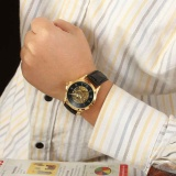 ... Roman Digital Dial Desain Forsining Herren Uhren Pria Jam Tangan Mekanis Otomatis Klasik Retro Uhr Pria ...