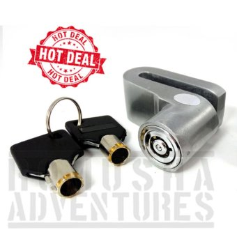 Romusha Disc Brake Lock / Kunci Gembok Cakram Motor