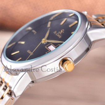"Hot Deals ""Saint Costie Original Brand, Jam Tangan Pria - Body Silver/Gold"