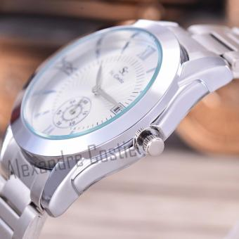 Pria - Body Gold - White Dial - Stainless Steel Band. Source .