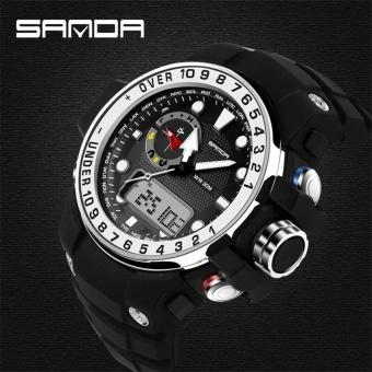 Sanda Brand Men Sports Watches Waterproof Shock Resistant G Style Military Digital Watch Electronic Quartz Watches