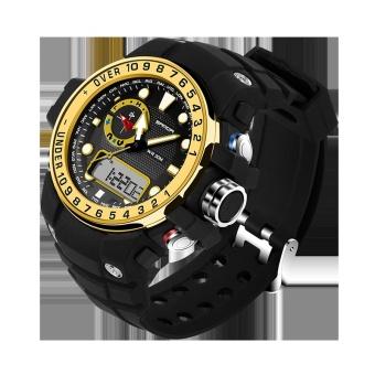 Bandingkan Toko Waterproof dual layar Sanda merek Watch 399 otomatis perhiasan pria Fashion .
