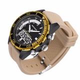 SANDA Fashion Pria Olahraga Watches Brand QUARTZ Militer Tahan Air Digital Watch Jam Tangan Pria-Intl - 2