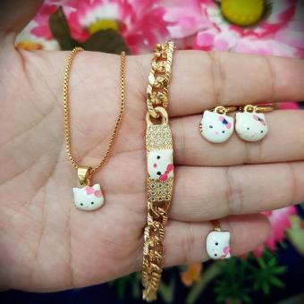 set kitty anak cantik xuping
