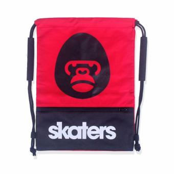 SKATERS 17HSKT-M0437008 STRING BAG 05 RED-BLACK