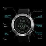 ... SKMEI Kompas Olahraga Watches Pria Waktu Dunia Summer Time Tonton Countdown Chrono Waterproof Digital jam tangan ...