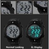 ... SKMEI Digital Pioneer Sport Watch Water Resistant 50m / Jam Tangan Pria Karet - DG1068 -
