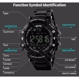 SKMEI Jam Tangan Olahraga Smartwatch Bluetooth - DG1226 BL - Black Blue -