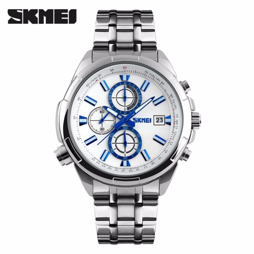 Skmei Jam Tangan 9092cl Black White Box Original Page 2 Pria Hot Deals Analog 9107cs Strap Rantai Stainless