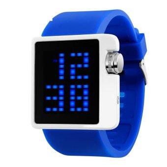 SKMEI Merek Watch 1145 Wanita LED Digital Olahraga Pakaian Busana Kasual Elektronik Jam Tangan