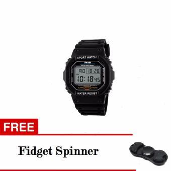 SKMEI Sport Men LED Watch Anti Air Water Resistant WR 50m DG1134 Jam Tangan Pria Tali