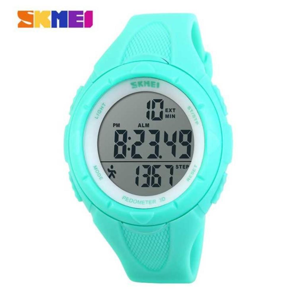 Review of SKMEI Sport Pedometer Digital Running Watch DG1108S Water Resistant Anti Air WR 50m Jam