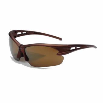 Sport SunGlasses Style - Kacamata Pria - Fashion - Anti UV - Hitam - Clasic  Men 432ca86136