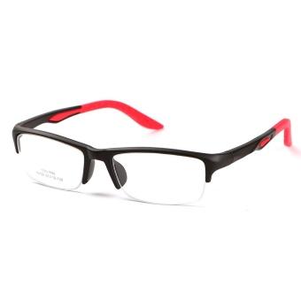 Stallane Fashion Optical Miopia Bingkai Tr90 Glasses Super Light Tontonan Kacamata Half Rim Kacamata untuk Pria