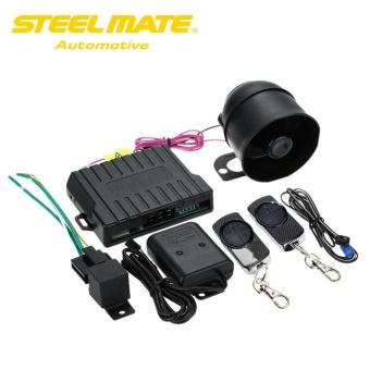 Steelmate 838N 1 Way Car Alarm System Match Central Locking System & Window Closer Anti-