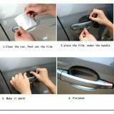 Sticker anti gores lecet pelindung gagang pintu mobil - 2