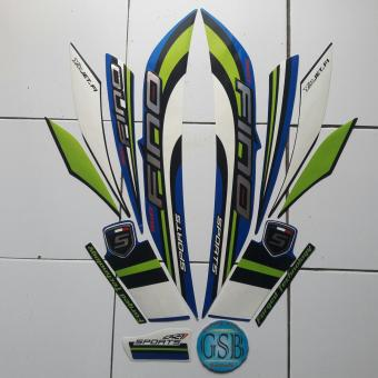 Fitur Stiker Striping Motor Yamaha Xride 2014 Biru Dan Harga Terbaru