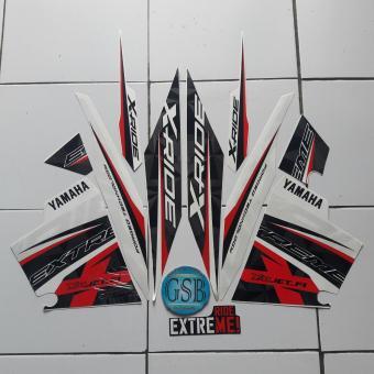 Fitur Stiker Striping Motor Yamaha Xride 2014 Orange Dan Harga