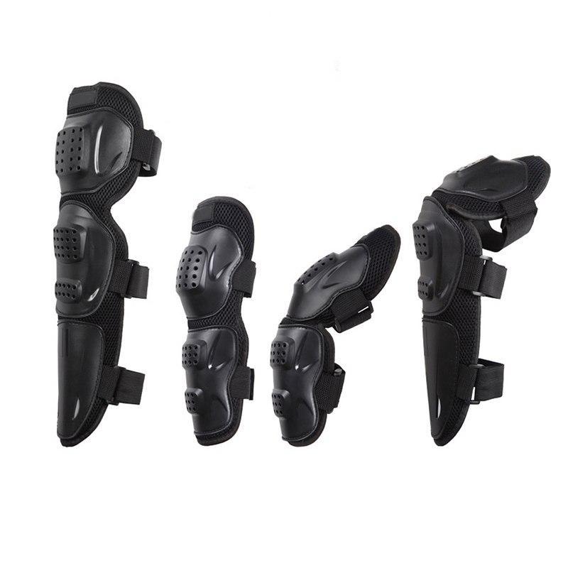 Review of Super 4 Pcs Siku Lutut Bantalan Pelindung Guard Protector untuk Skating Motor-Intl