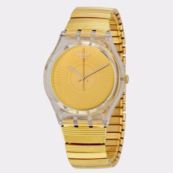 Swatch GE244A/B - Purity - Jam Tangan Wanita - Bahan Tali Stainless Steel -